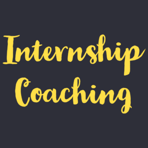 Internship Coaching Session